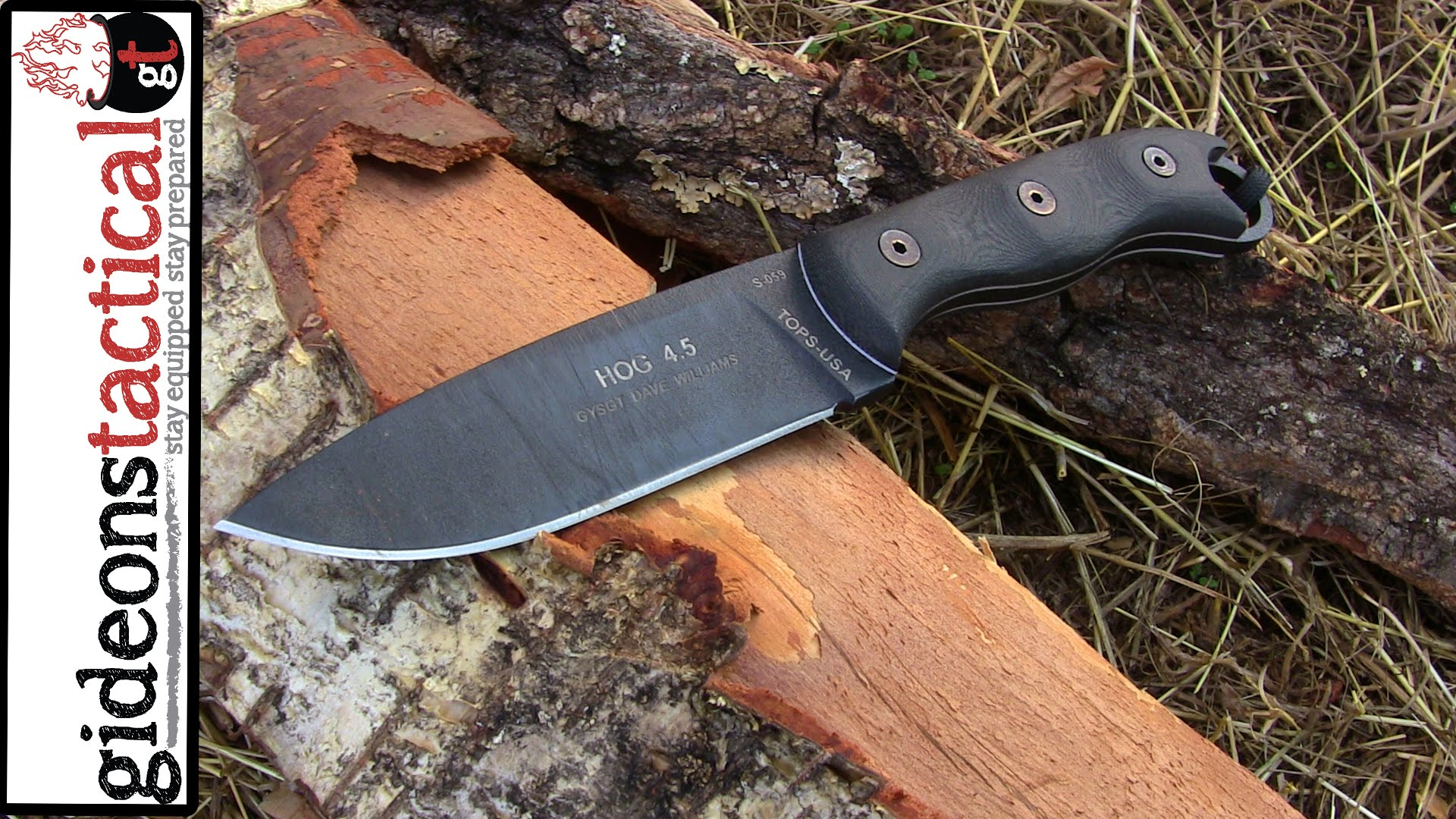 TOPS KNIVES HOG 4.5 Knife Review: Get Hunting