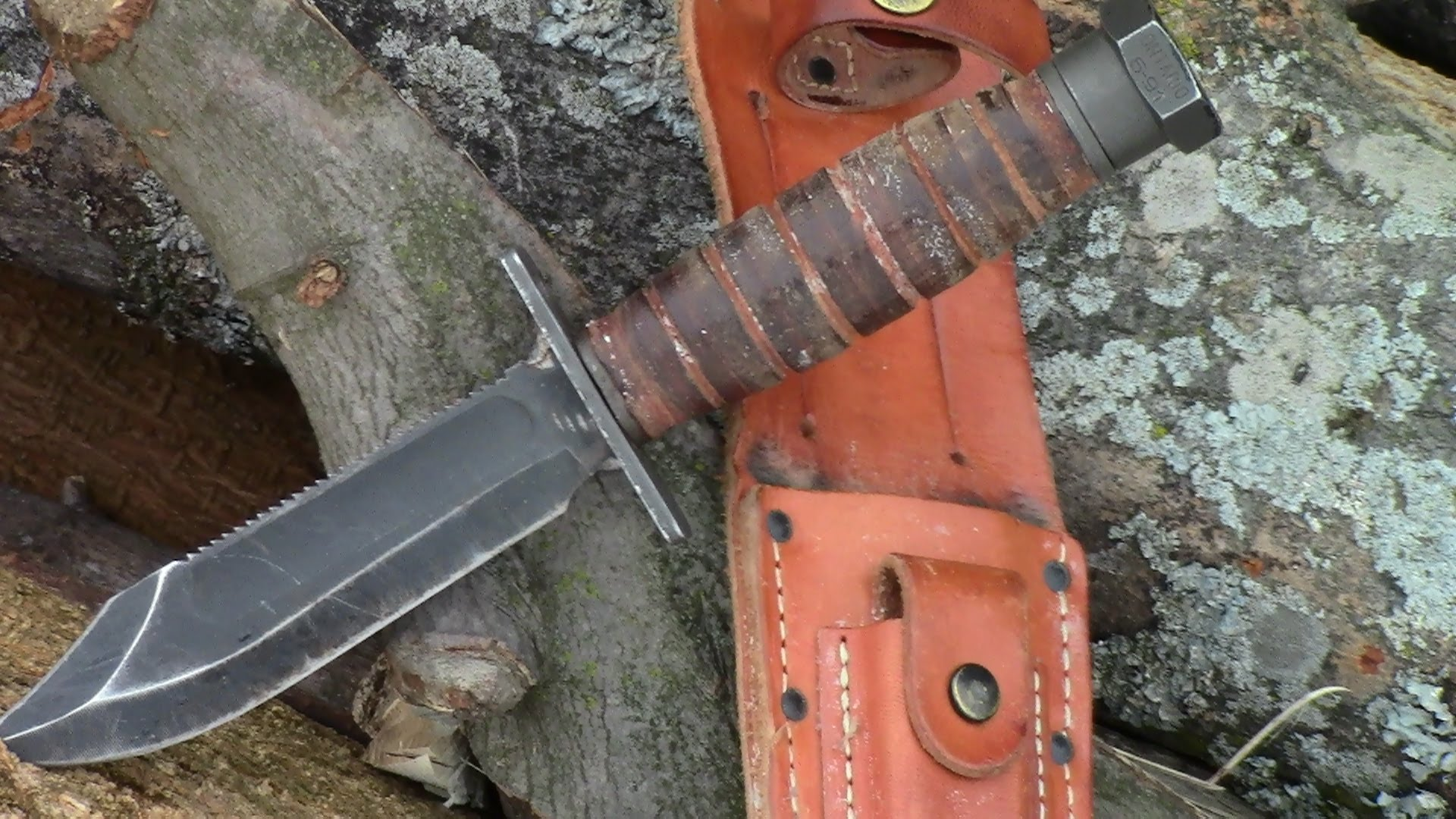 Ontario Air Force Survival Knife Full Review By