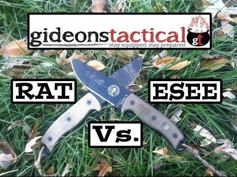 Esee 5 Vs Rat 5 Knife Comparison Top Knife Reviews